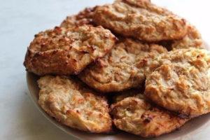 рецепт диетических овсяных печенек