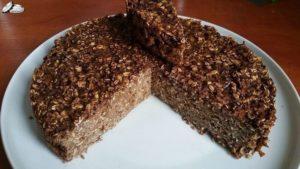 Шоколадный диетический пирог