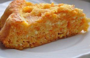 творожно морковная запеканка в духовке