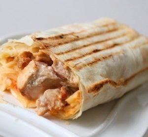 низкокалорийный сендвич