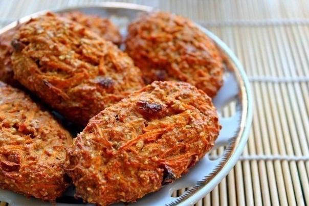 морковное печенье диетическое