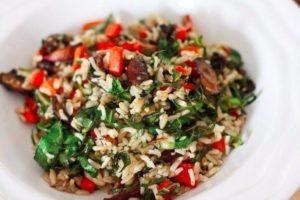 рис с овощами с фото