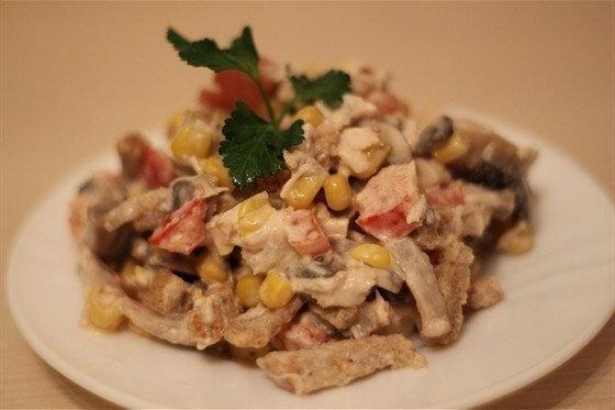 Английский салат рецепт с фото