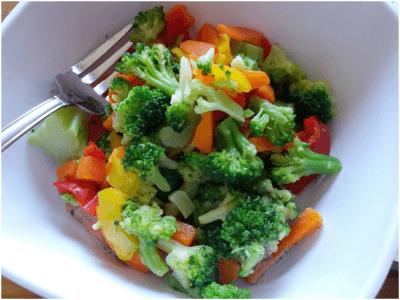 Овощной салат для перекуса