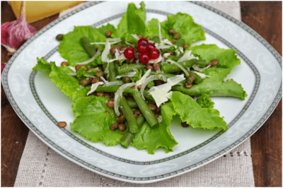 салат со стручковой фасолью рецепт с фото
