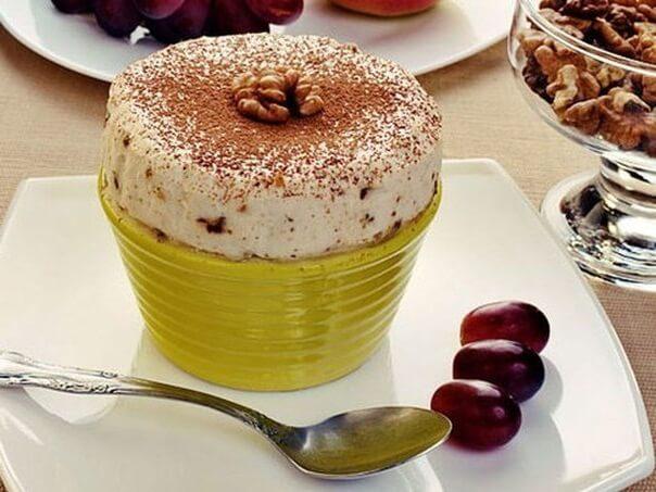 творожный воздушный десерт