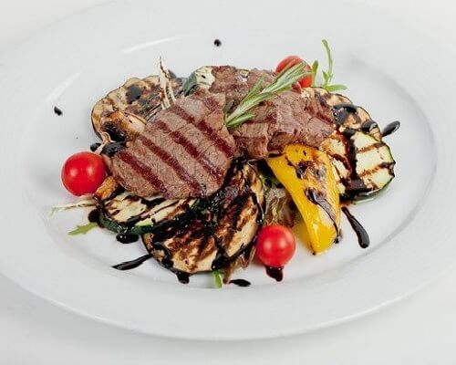 теплый салат говядиной фото