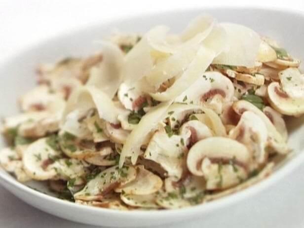 Рецепт салата из шампиньонов