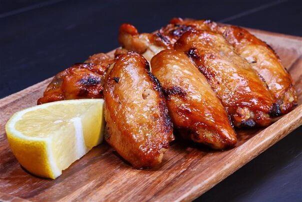 Куриное филе с соевым соусом