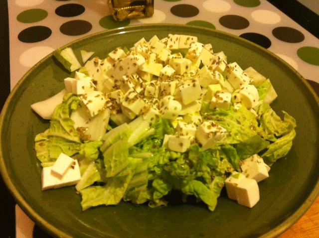 Готовый салат из капусты