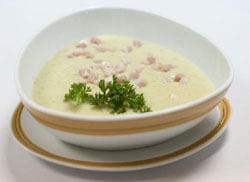 Грибной суп из лисичек