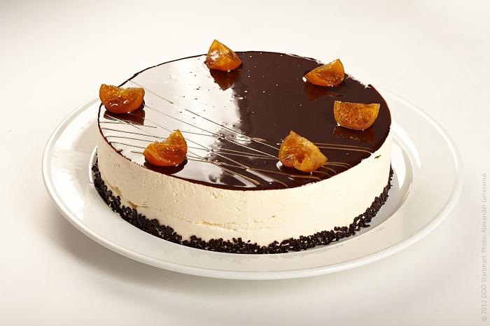 Желейный торт с творогом