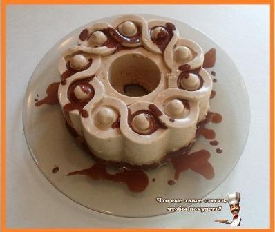 Кофейный десерт с агар-агаром