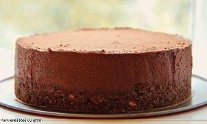 Шоколадный рай торт