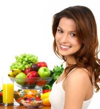 правильным питанием сохраним молодость