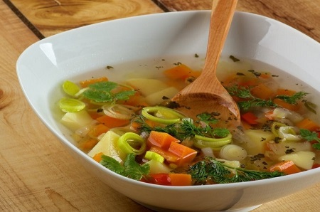 Боннский суп для сжигания жира