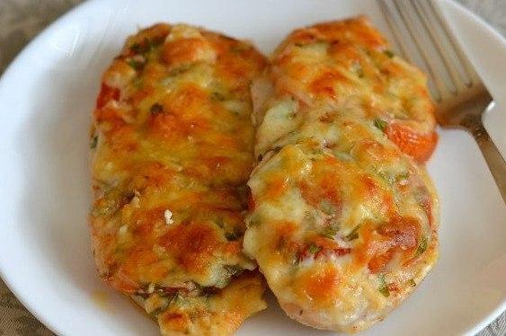 куриное филе с сыром фитнес ужин