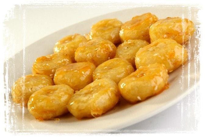Медовые бананы десерт
