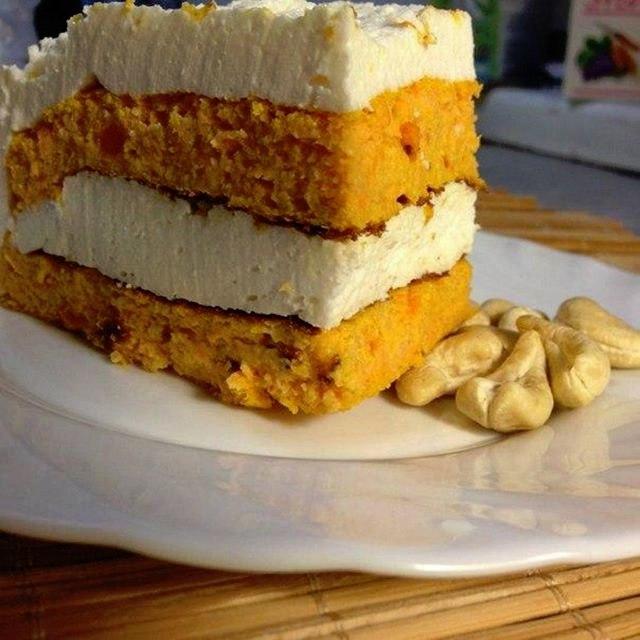 Морковно-творожный торт
