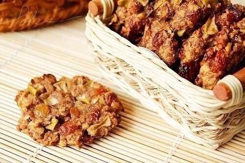 Овсяное печенье без муки,яиц и масла