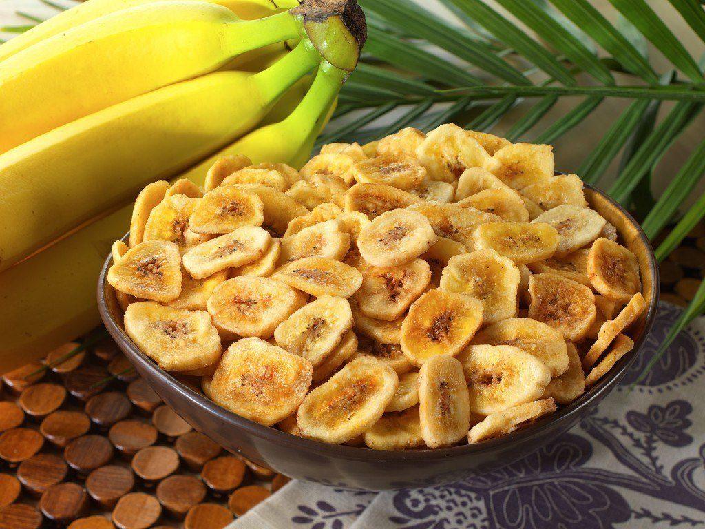 Банановые чипсы как приготовить