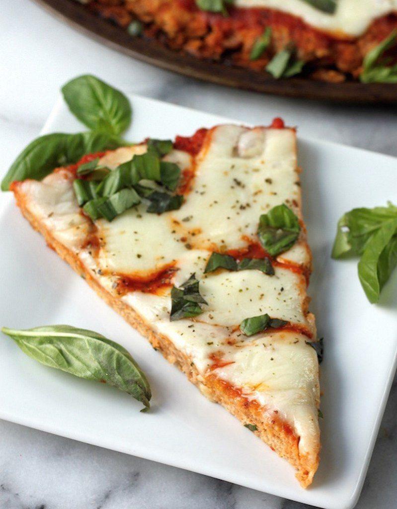 Вкуснейшая куриная пицца без грамма теста