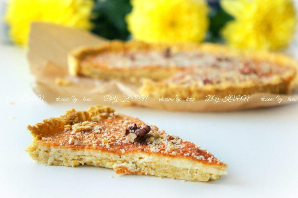 Диетический пирог из орехов