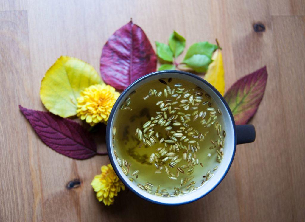 Имбирный чай с фенхелем