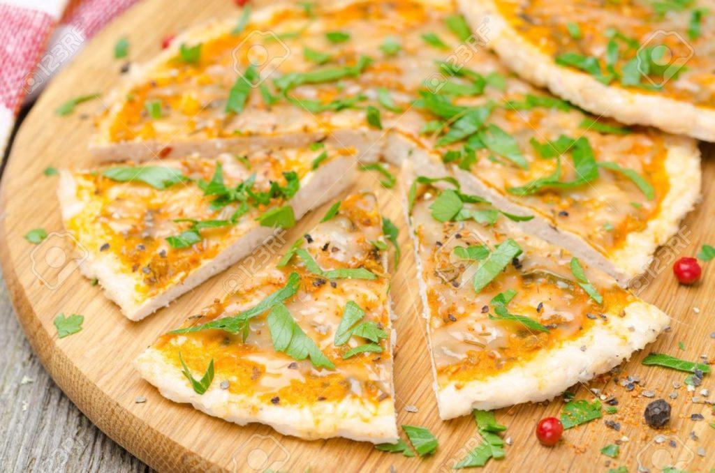 Куриная пицца без муки!