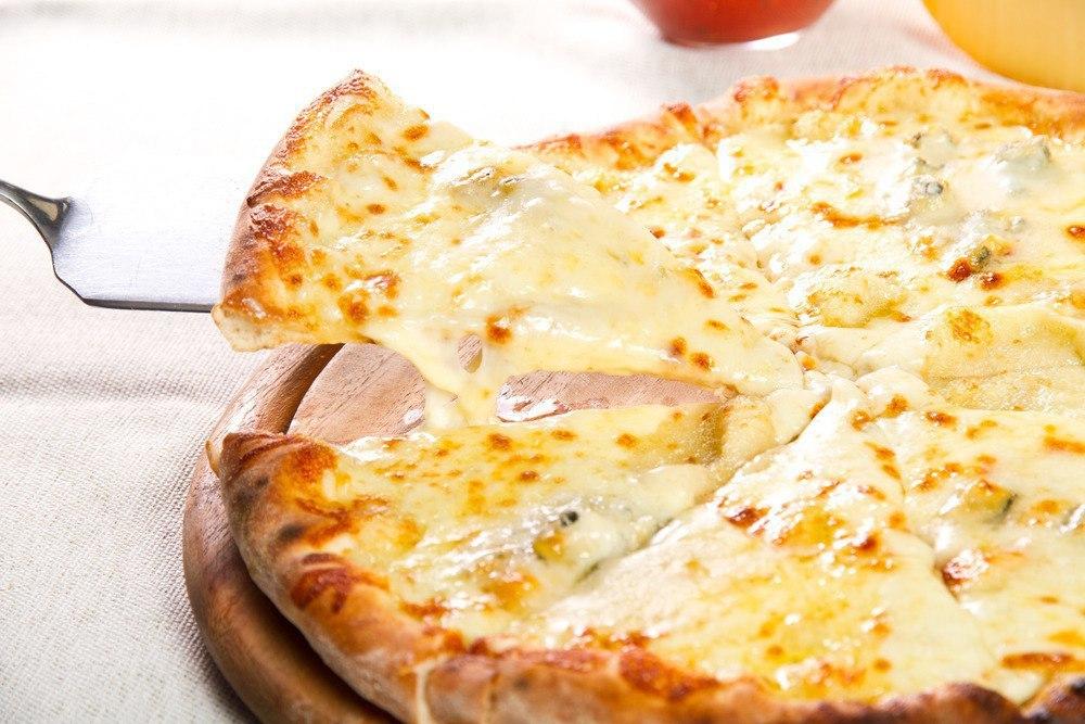 Творожно - сырная пицца