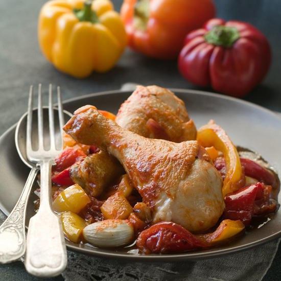 Курица по-провански