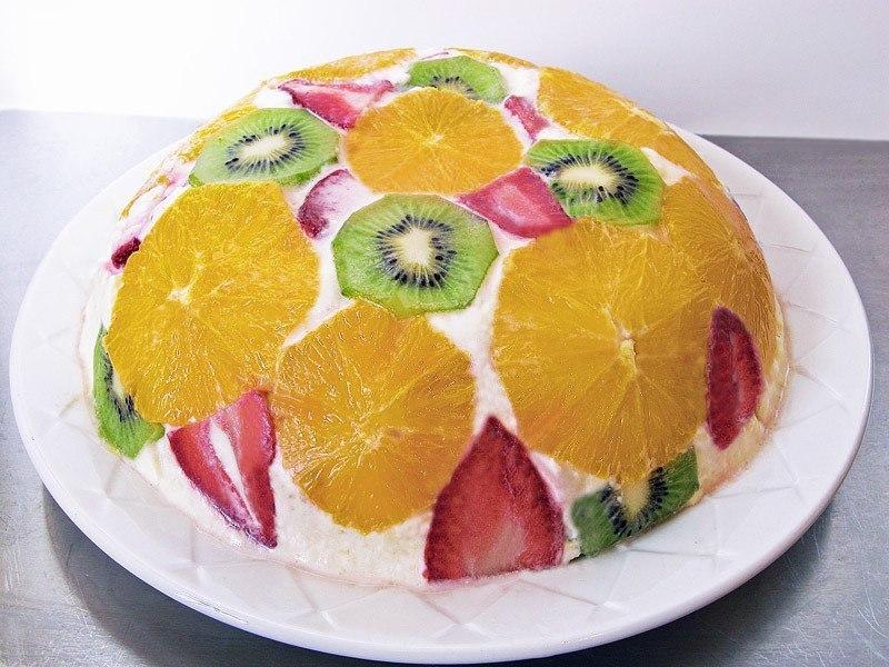 Творожно-йогуртовый торт Нотка лета