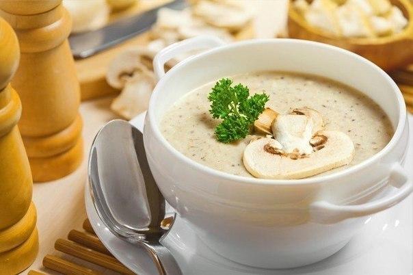 Грибной кремовый суп