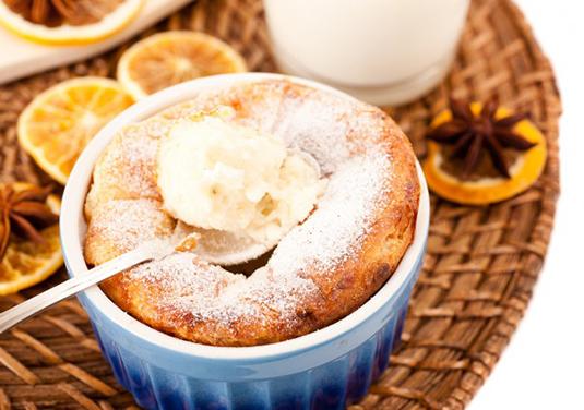 Творожно-банановый воздушный завтрак