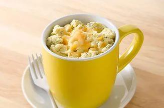 Яичный завтрак в кружке