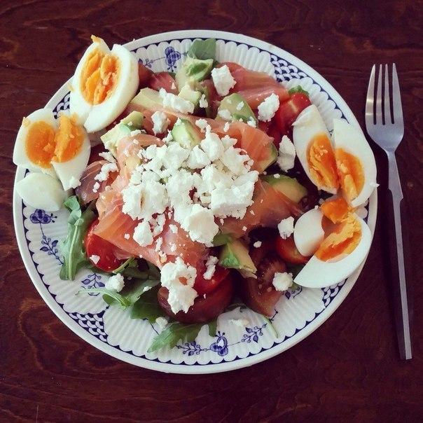 6 простых белковых салатиков к ужину