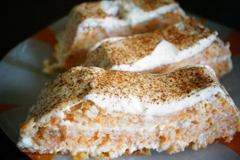 Диетический морковный тортик