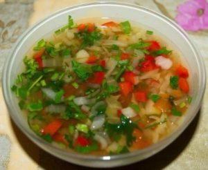 рецепт диетического овощного супа