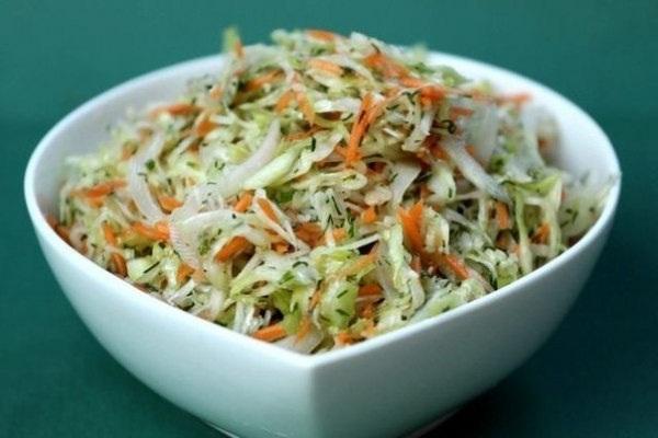 Салат с капустой рецепт с фото