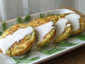 Домашний рецепт цветной капусты оладьи