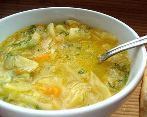 суп для вегетерианцев