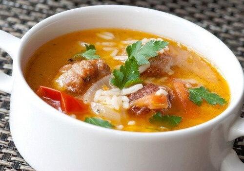 Рисовый суп с курицей рецепт с фото