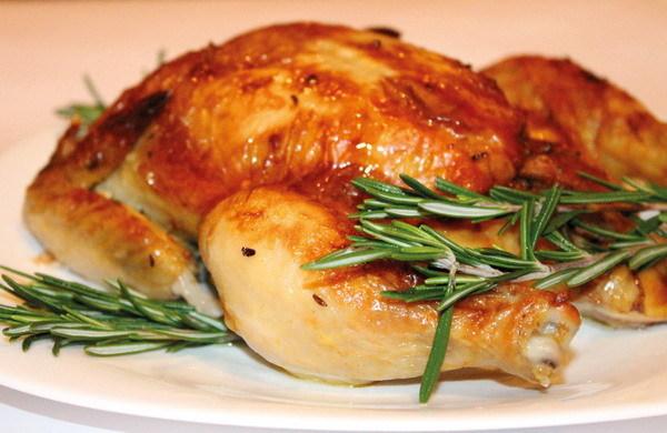 Курица в духовке самый простой рецепт