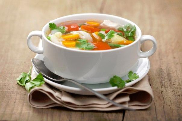Овощной суп для худеющих