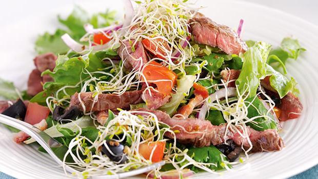 салат из говяжьего сердца