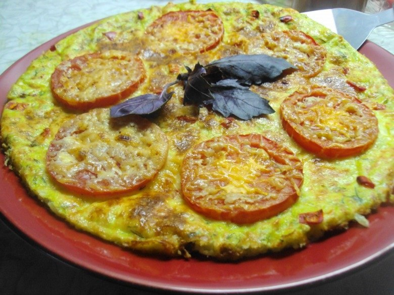 Рецепт пицца с кабачками