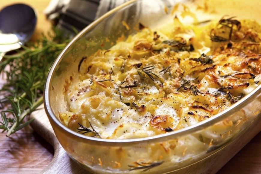 Куриная запеканка с овощами и сыром