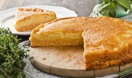 Овсяно-сырный пирог рецепт