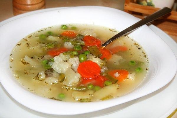Рецепт Супа из цветной капусты