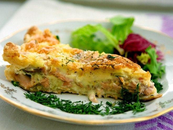 Рыбная запеканка без картофеля рецепт